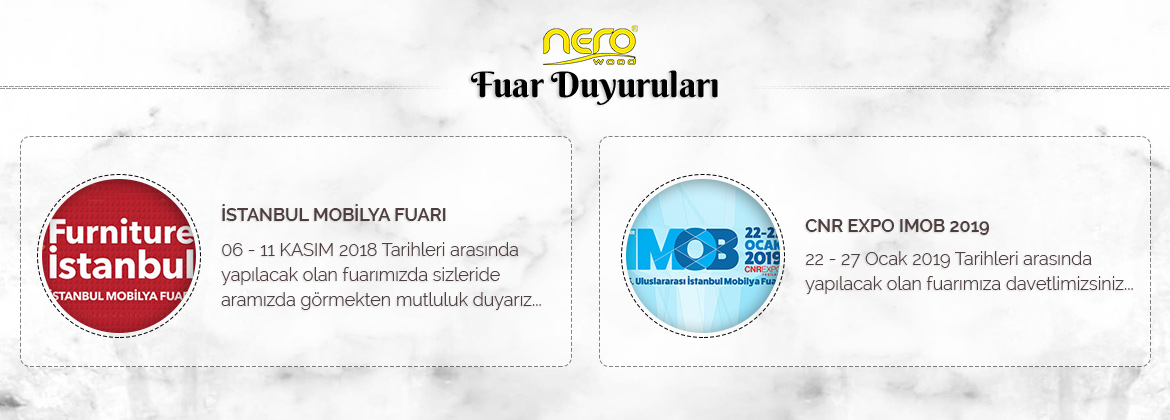 Nero Wood - Fuarlar